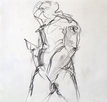 männlicher Akt (Herkules)