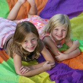 Parachute games, obstacle course and more!