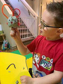 child in playschool