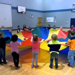 Parachute games for active living