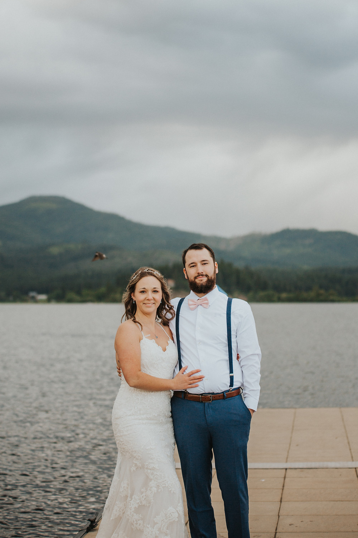 Idaho Lake Elopement