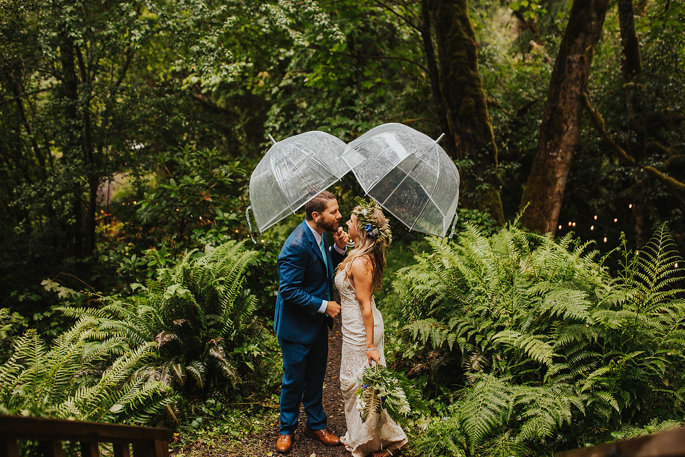 Mt. Hood Forest Elopement