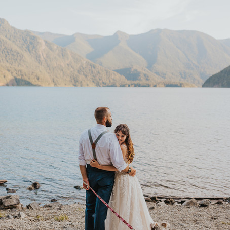 How to Plan an Olympic National Park Elopement