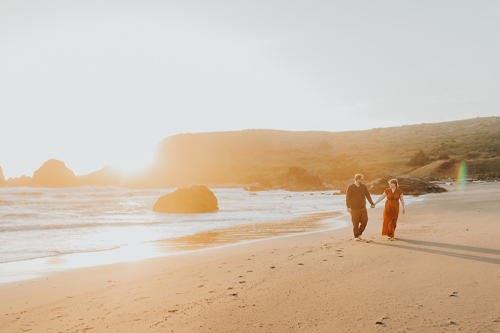 Brookings, OR Beach Engagement Photos