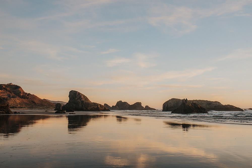 Southern Oregon Coast Elopement Location