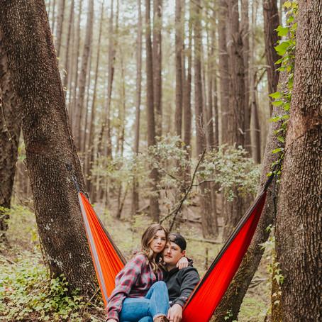 Southern Oregon Photographer - Camping Couple Photos