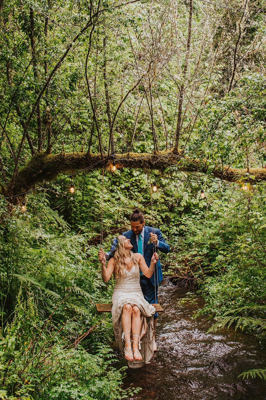 Mt. Hood, Oregon Forest Elopement