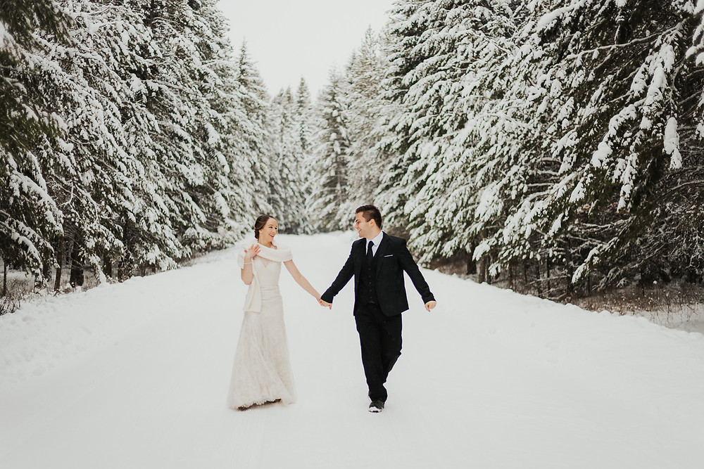 Idaho Winter Elopement