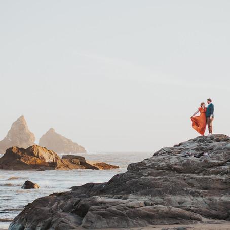 Brookings, OR Engagement Photos - Oregon Elopement Photographer