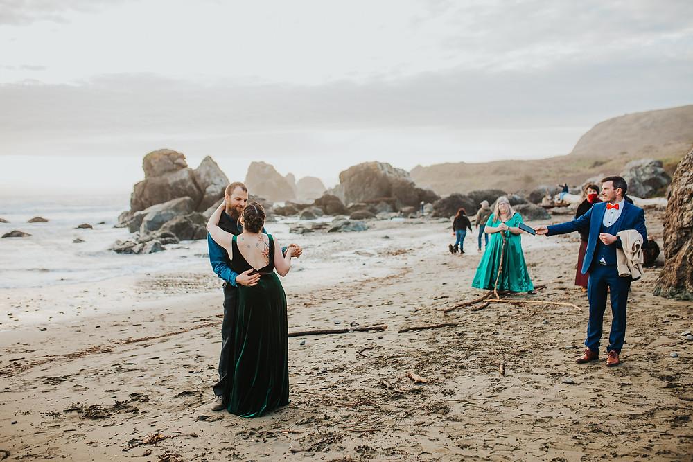 Oregon Coast Beach Elopement