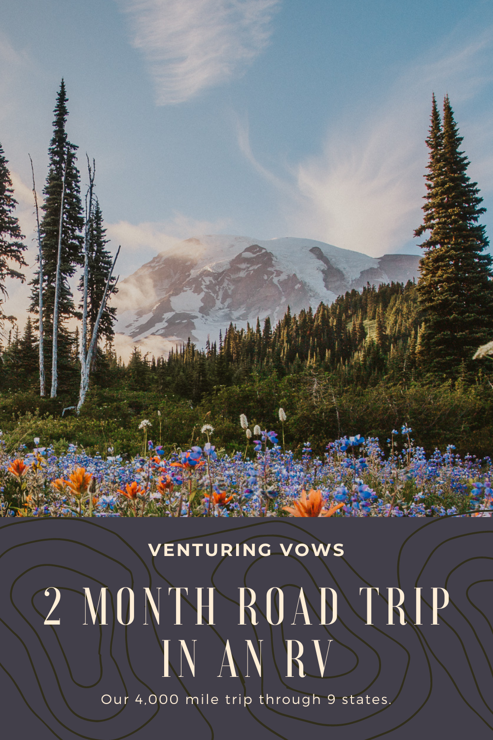 2 Month Road Trip in an RV Pin