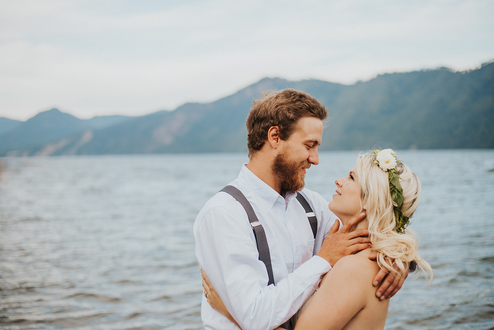 Idaho Lake Elopement