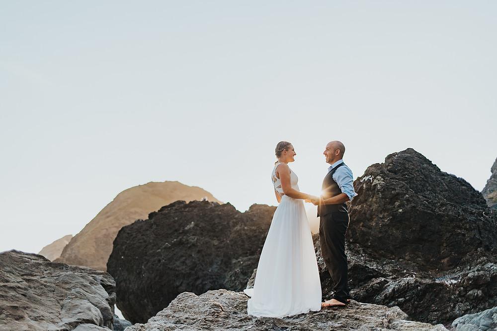 Oregon Coast Elopement - Brookings, OR Photographer