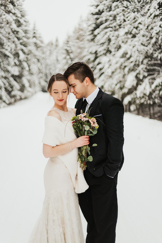Idaho Winter Elopement