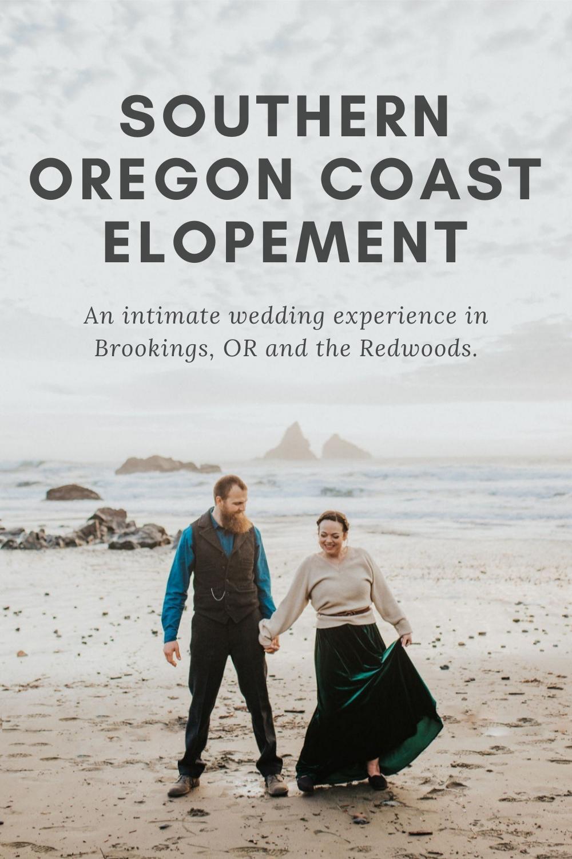 Southern Oregon Coast Elopement Pin