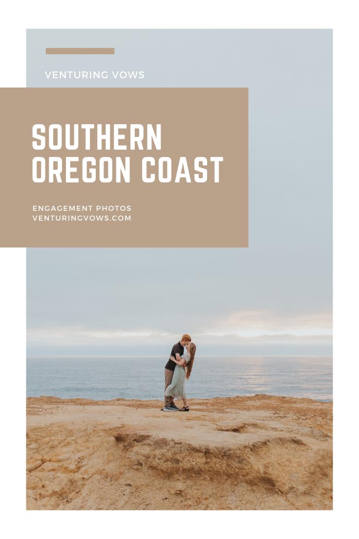 Southern Oregon Coast Engagement Photos on Pinterest