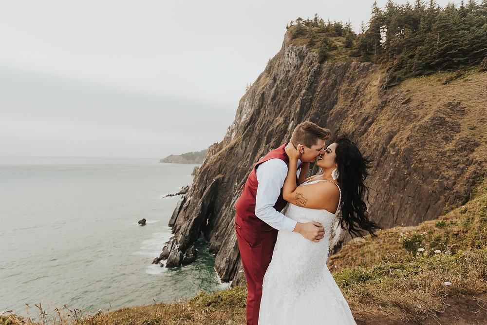 Oregon Coast Elopement - Vow Renewal
