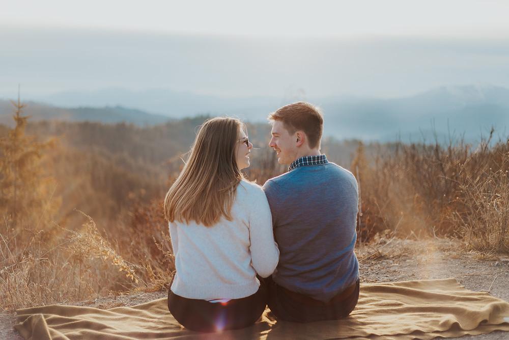Idaho Sunrise Couple Photos