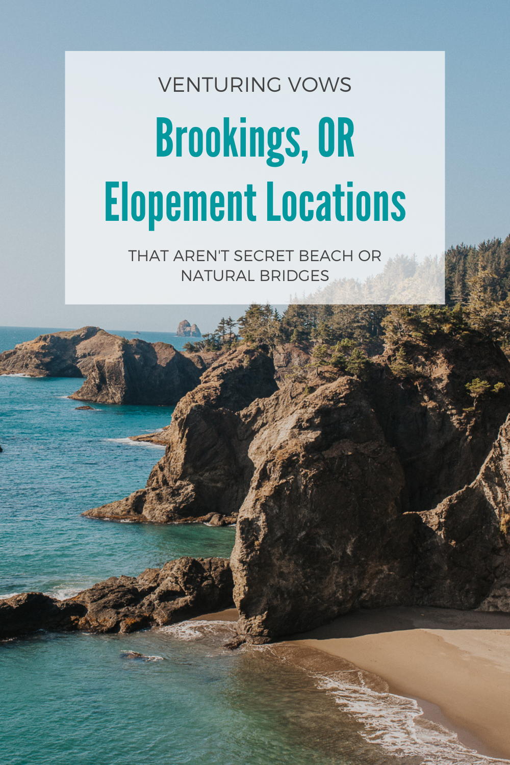 Brookings, OR Elopement Locations