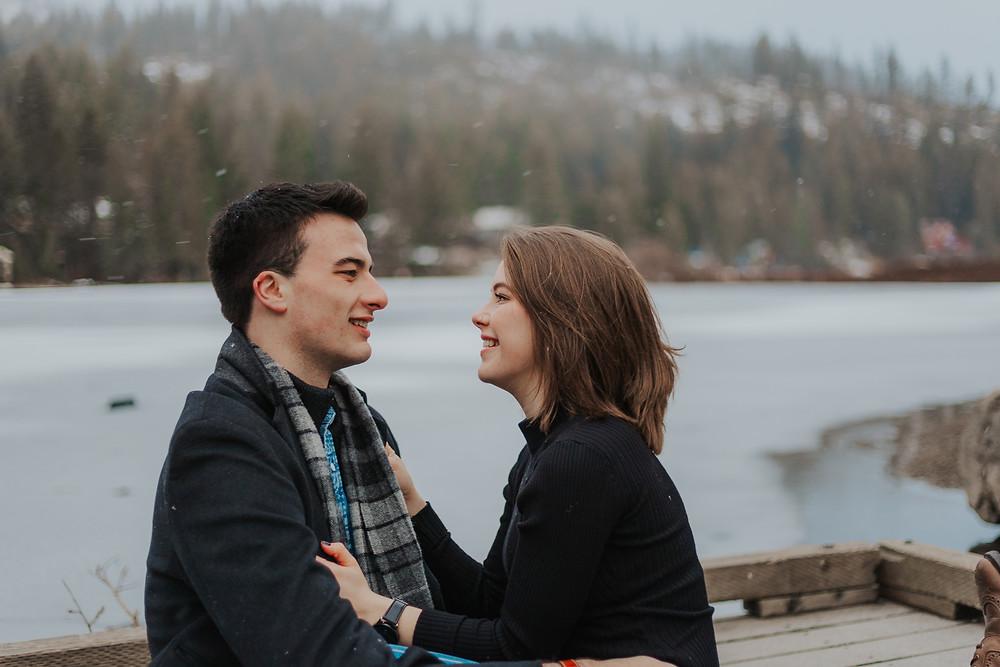 Winter Couple Photos