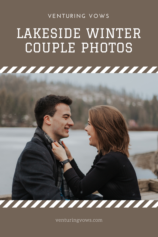 Winter Couple Photos Pin