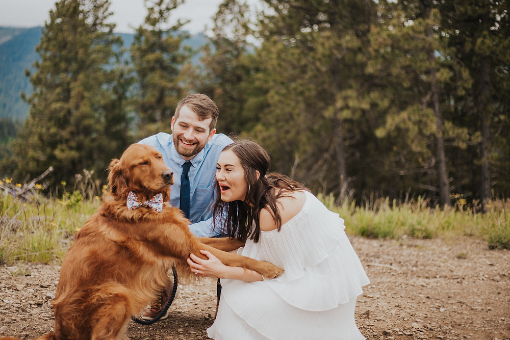 Idaho Mountain Elopement