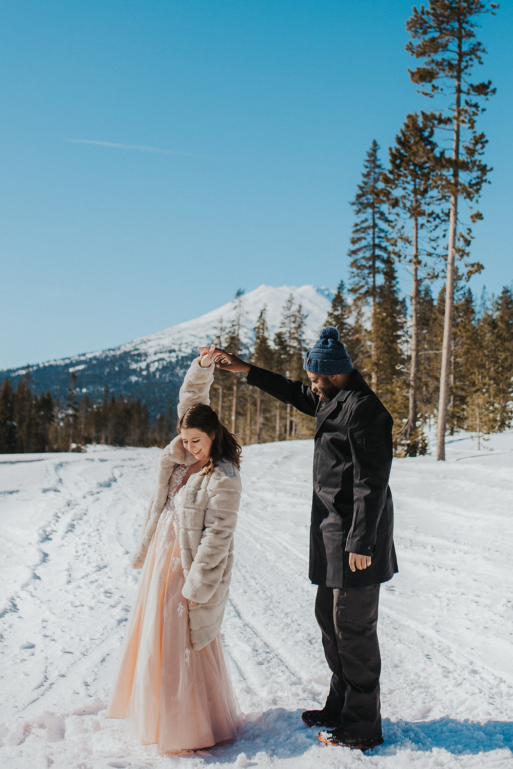 Mt. Bachelor Winter Elopement