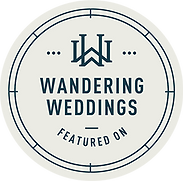 Featured on Wandering Weddings