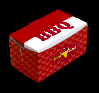 BBQ Take Out Box