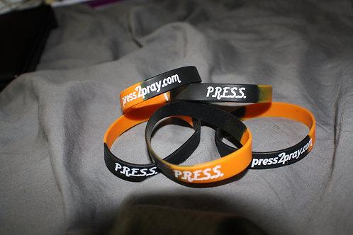 Press Wrist Bands (Set of 10)