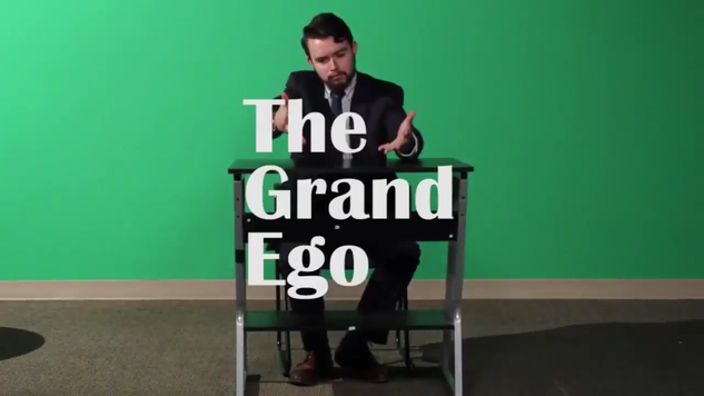 The Grand Ego is a satirical news show Hosted by Jarret Grismer. Most of the news revolves around the local happenings on and around the GVSU campus.