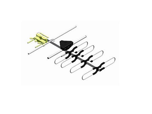 Aktiv RiksTV antenne,HINKE HIA3755R, 19 elementer