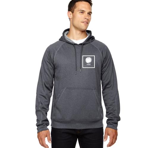 Pocket Logo Dark Grey Hoodie