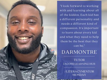 Literacy Mentor Monday: Darmontre