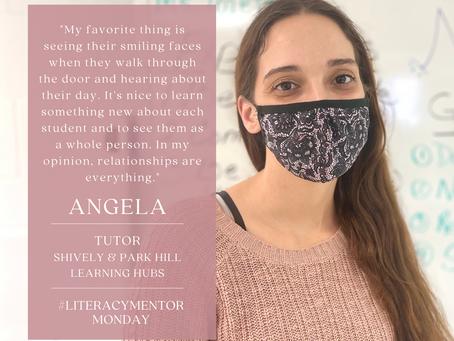 Literacy Mentor Monday: Angela