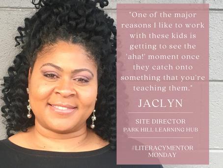 Literacy Mentor Monday: Jaclyn