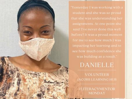 Literacy Mentor Monday: Danielle