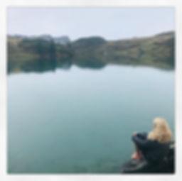 Move Mountains lakeside post-hike Medita