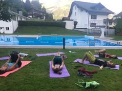 yoga @ sonnenberg in Summer