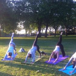 Yoga Event Roundwood Park London