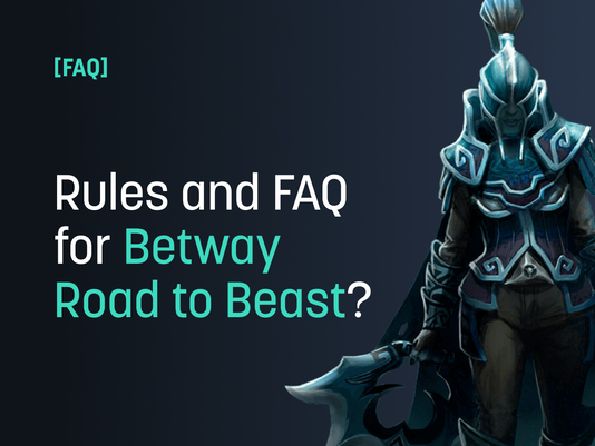 FAQ & Rules for Betway Road to Beastcoast