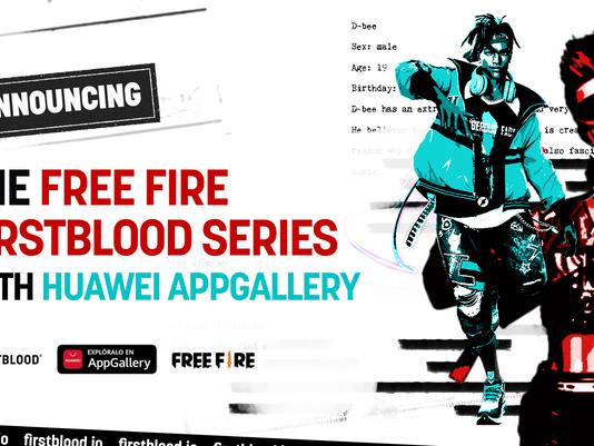 FirstBlood y Huawei lanzan torneo de Free Fire en Lima Games Week