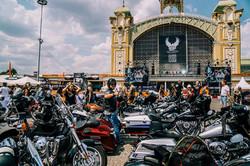 concentration de bikers