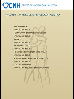 CURSO 1º NIVEL 3º