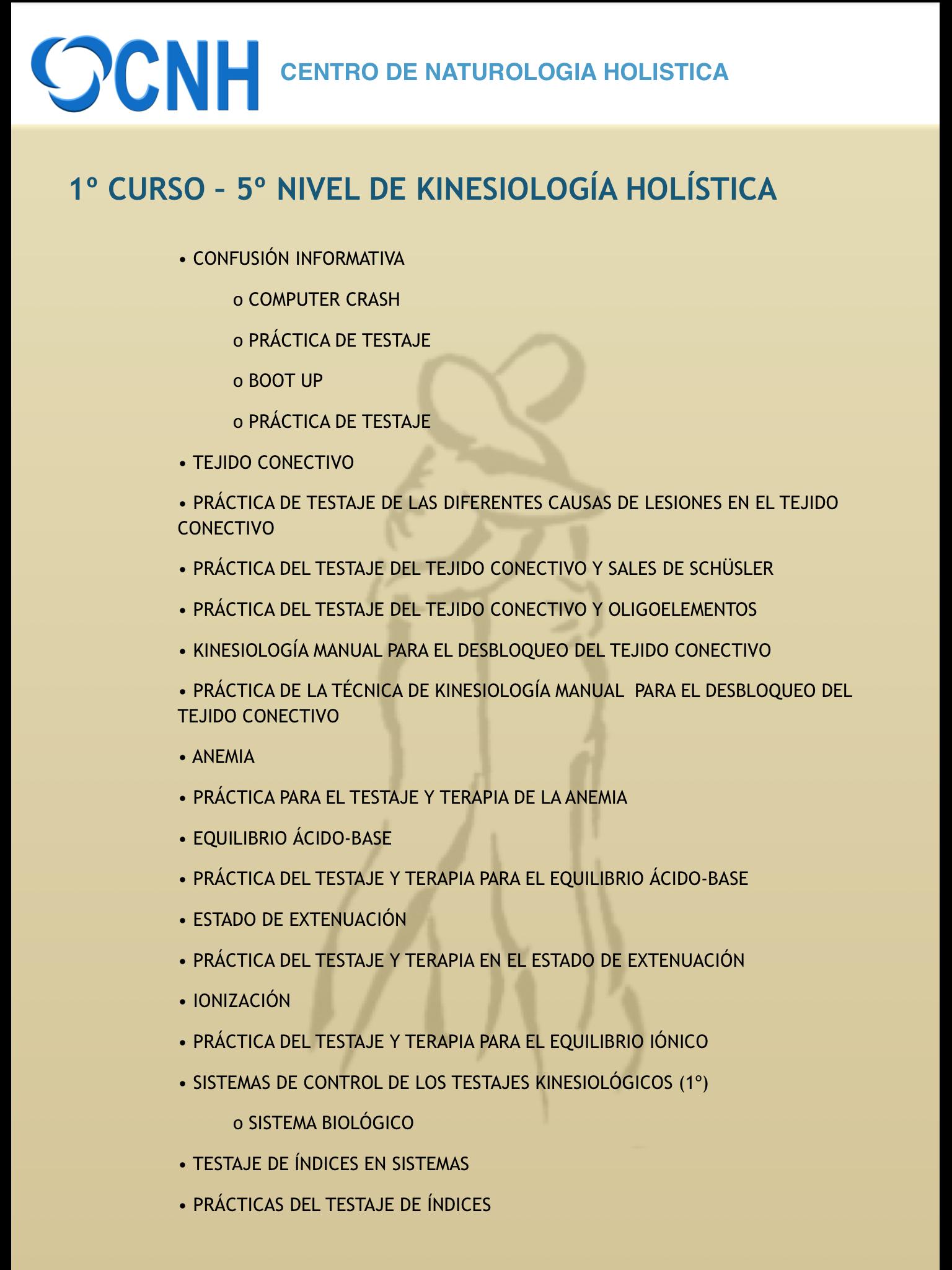 CURSO 1º NIVEL 5º