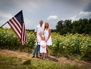 Sunflower Family Session