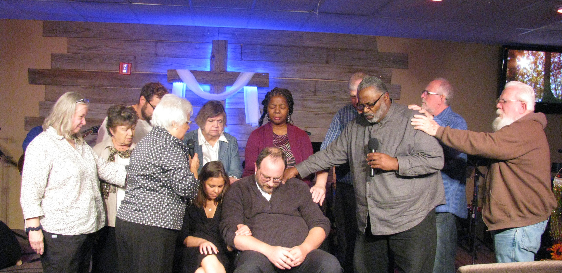 Praying for Pastor Brent and Sarah
