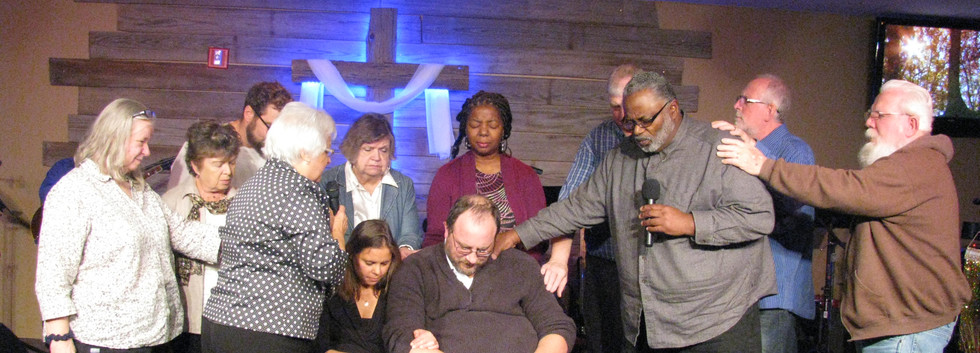 Praying for Pastor Brent and Sarah