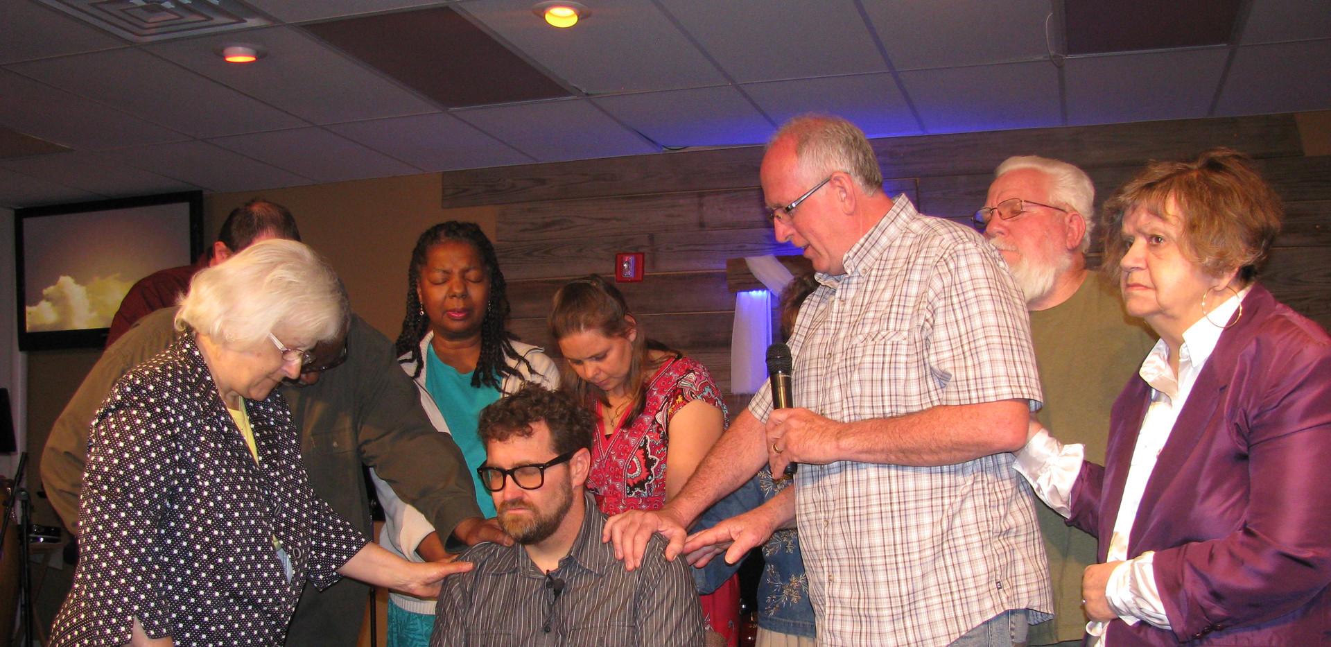 Ordaining Pastor Craig Day