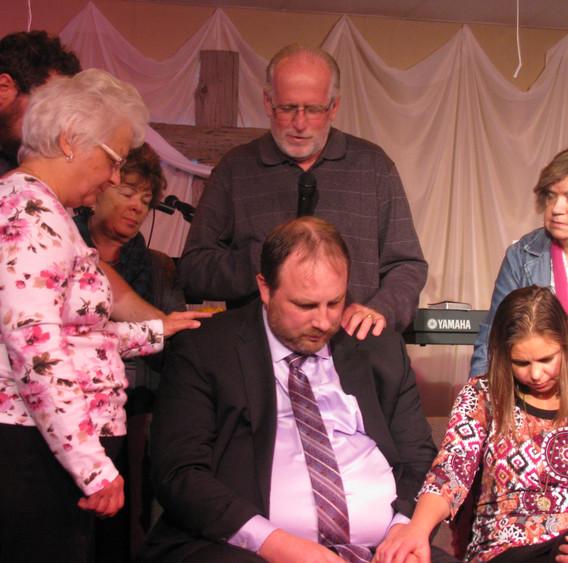 Prayer for Pastor Brent